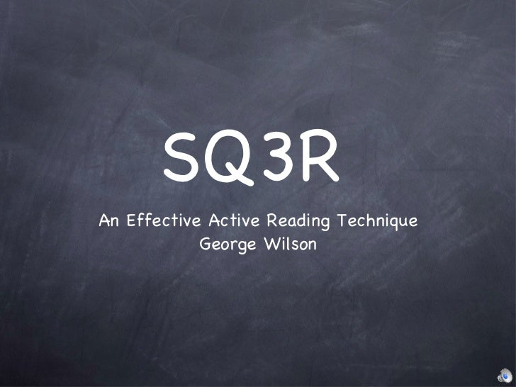 sq3r reading 2 10 ____ when i finish a reading assignment, i close the book rather than look over the chapter to review what i have read if you checked only one of the above statem.