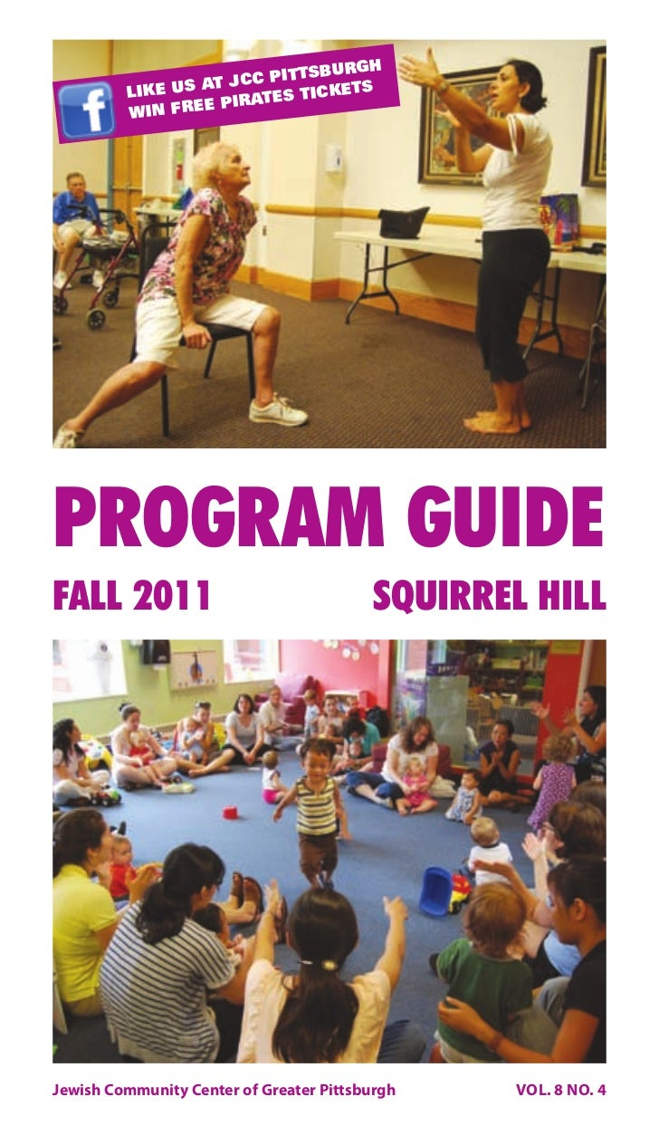 JCC Pittsburgh Fall 2011 Program Guide - Squirrel Hill