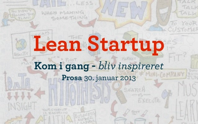 lean startup prosa socialsquare
