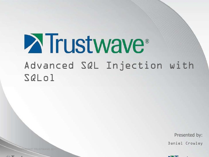 Advanced SQL Injection with SQLol