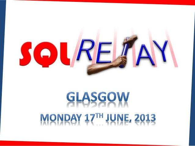 KoprowskiT_SQLRelayUK2013_2AM-aDisasterJustbegan_GlasgowLeedsBirminghamNorwich