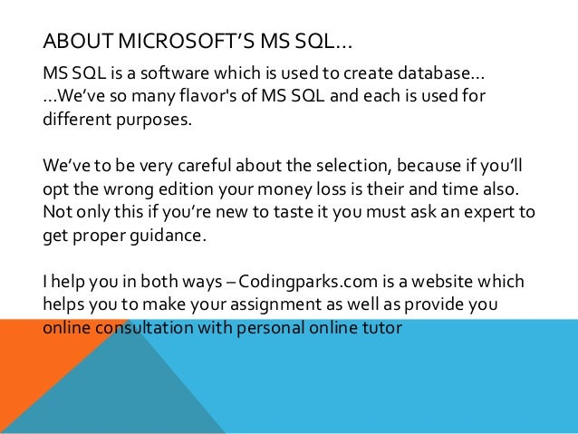 database project ideas sql server Sql server dba sample resume  database administration of ms sql server 2012,2008,  prepared the project management and technical documentation.