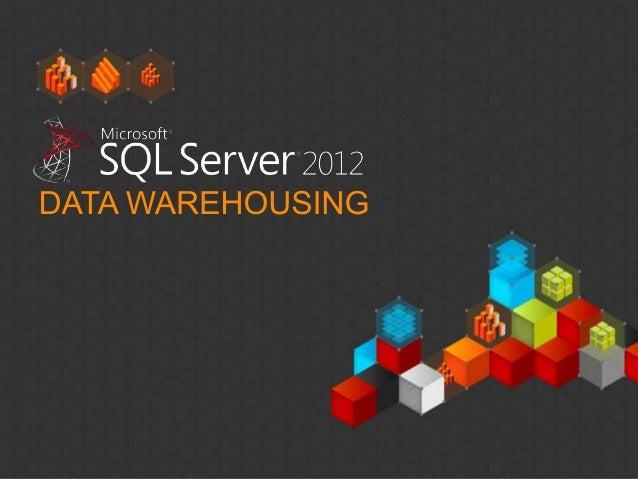 Microsoft Data Warehousing