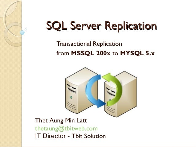 how to connect sql server to mysql