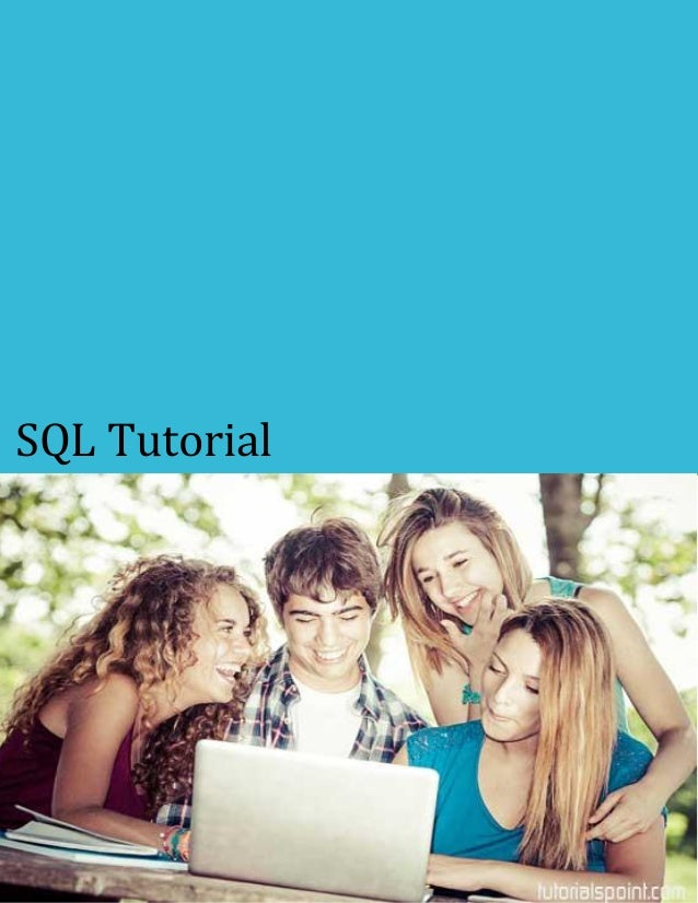Sql tutorial-Structured query language