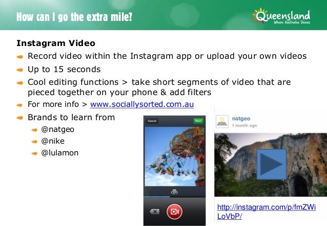 Cool Videos For Instagram Instagram Video Record Video