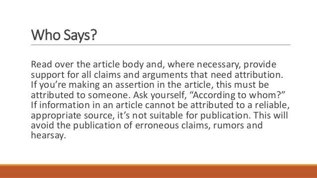 Where to write articles