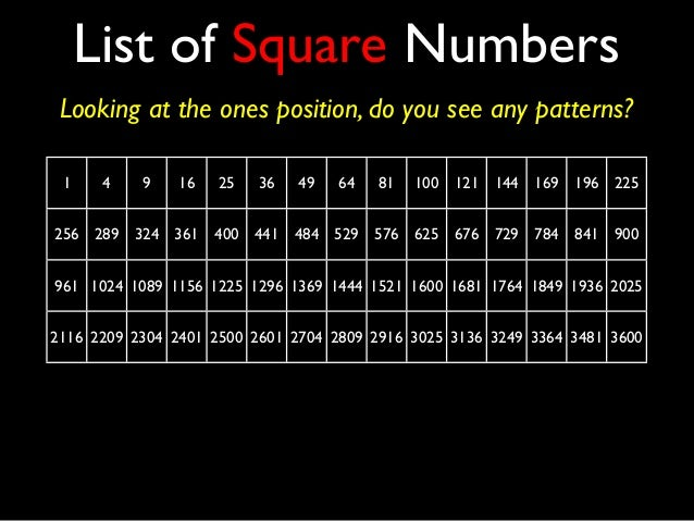 square root from 1 to 100 pdf