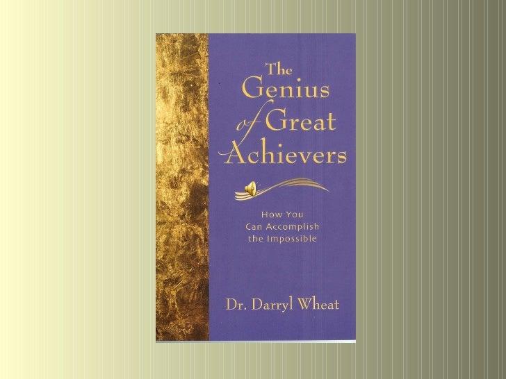 The Genius of Great Achievers