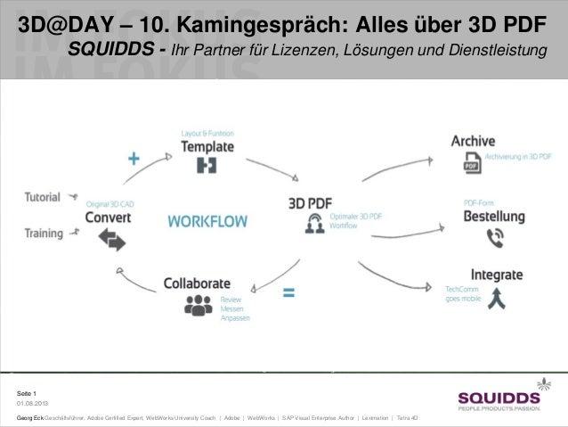 3D@DAY - 10. Kamingespräch: Alles über 3D PDF
