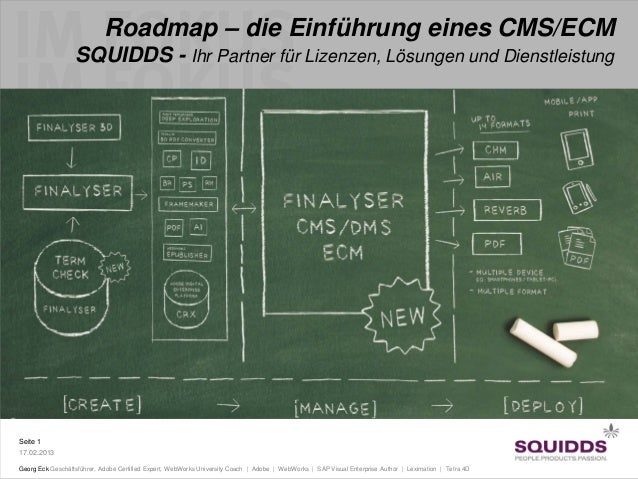 Roadmap - die Einführung eines CMS/ECM