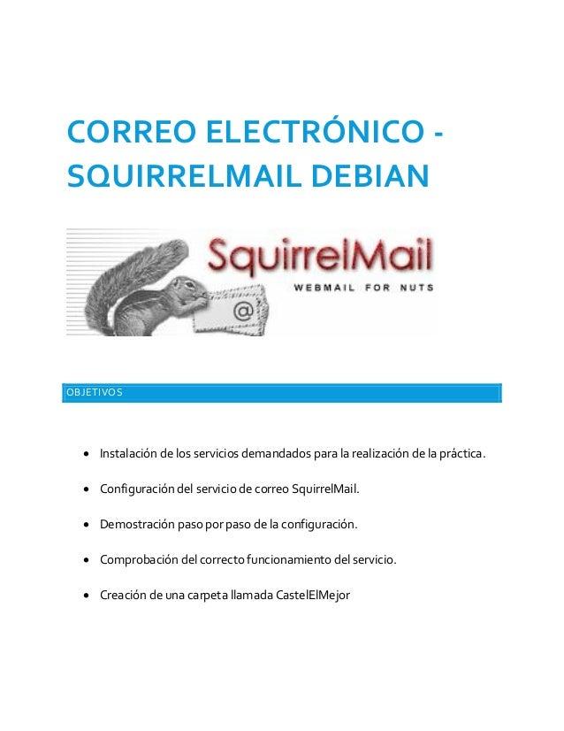 Squirrelmail Debian