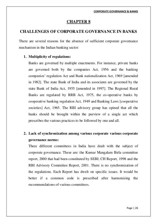 thesis on corporate governance disclosure