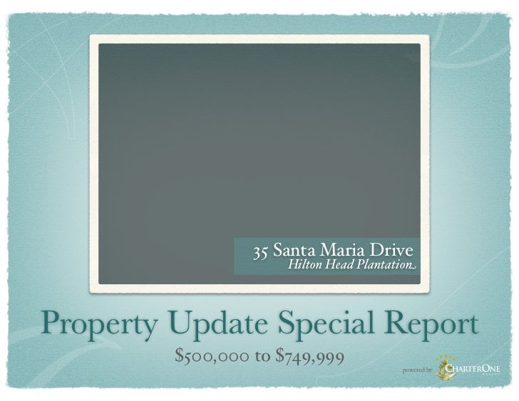 Special Market Report: $500,000 to $749,999