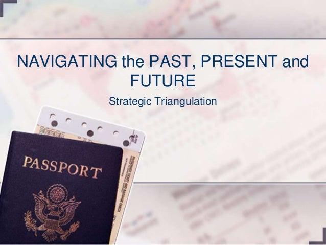 NAVIGATING the PAST, PRESENT and FUTURE Strategic Triangulation