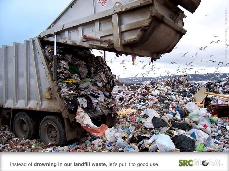 PROPRIETARY & CONFIDENTIAL INFORMATIONInstead of drowning in our landfill waste, let's put it to good use.
