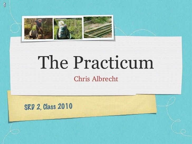 <ul><li>Chris Albrecht </li></ul>SRD 2, Class 2010