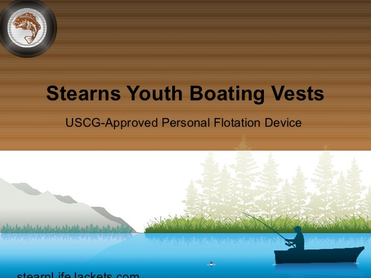 Stearns Youth Boating Vests USCG-Approved Personal Flotation Device