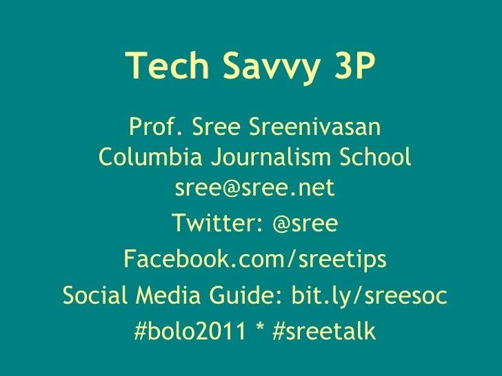 Sreenivasan-3P Track