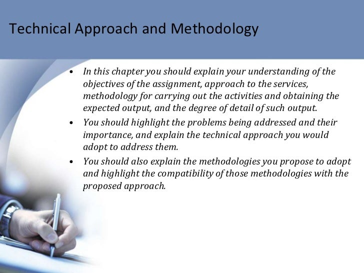 technical approach document template - srfp consultants 3 technical proposal