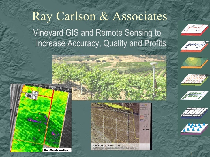 Accurate Vineyard Mapping for Mgmt & Marketing