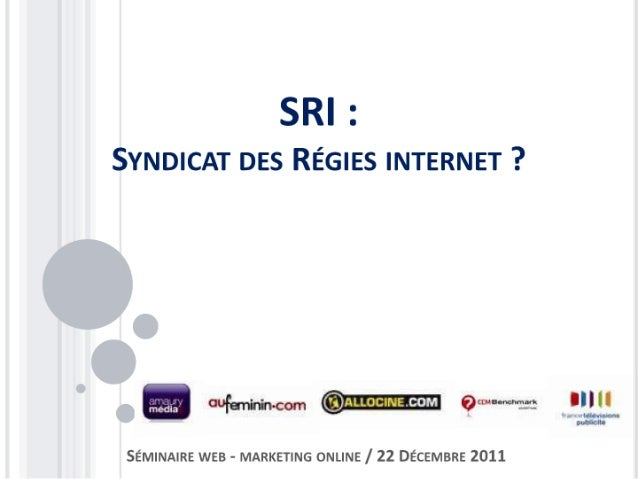 Syndicat des Régies Internet