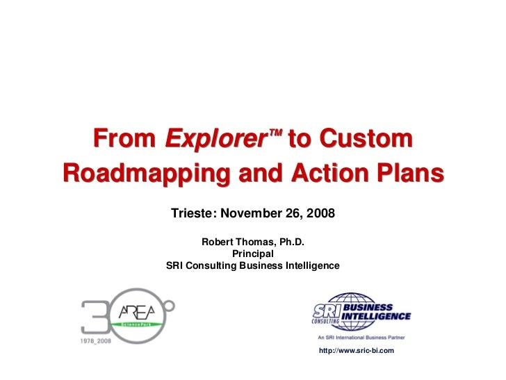 Technology Roadmaps