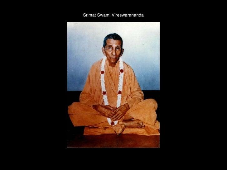 Srimat  Swami  Vireshwaranandaji