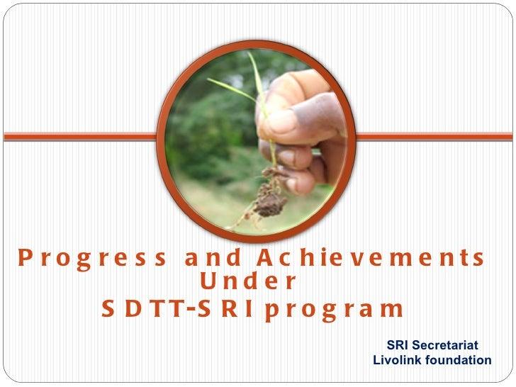 Sri secretariat, livolink foundation