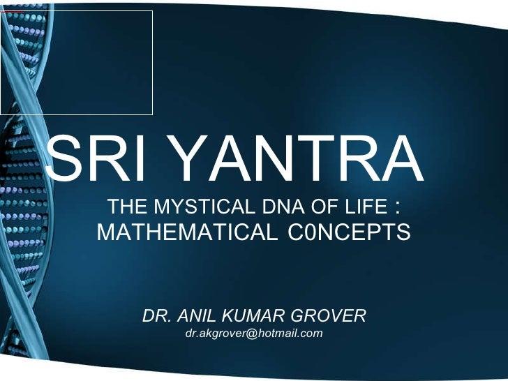 Sri yantra final ppt-01.12.2009