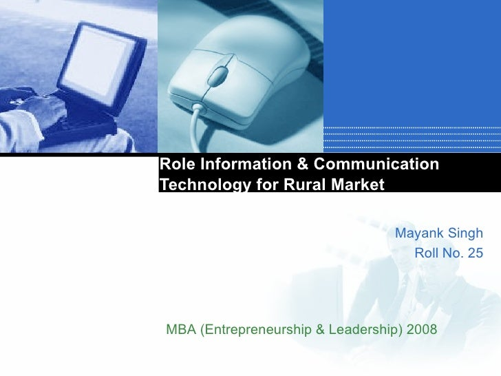 role of technology in communication essay