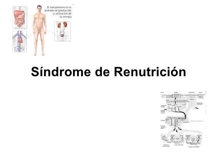Síndrome de Renutrición