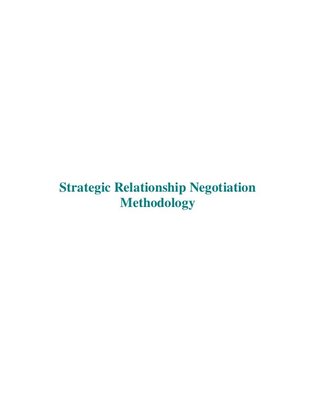 Strategic Relationship Negotiation Methodology