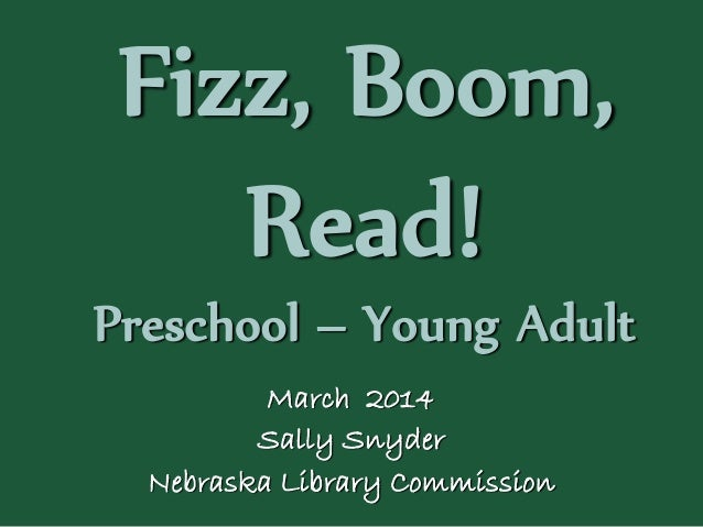 NCompass Live: Fizz, Boom, Read! : Summer Reading Program 2014