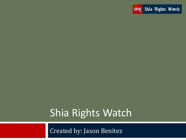 Shia Rights Watch