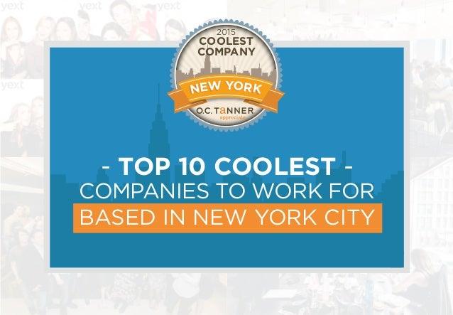 Writing companies nyc