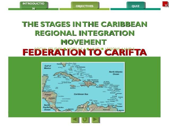 Essay on regional integration in the caribbean