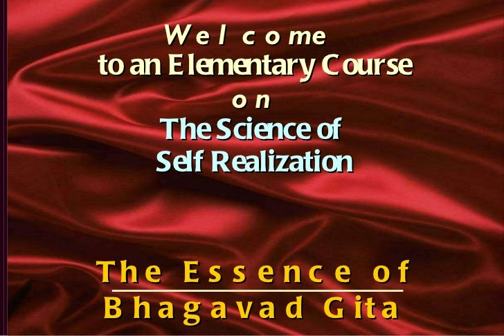 Ss.science of self_realisation