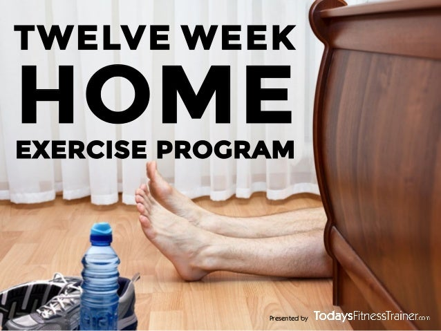 """New Year. New YOU!"" Home Exercise Program"