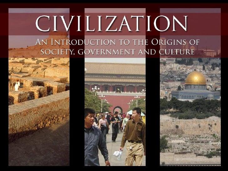 SocSci 2 Introduction to Civilization
