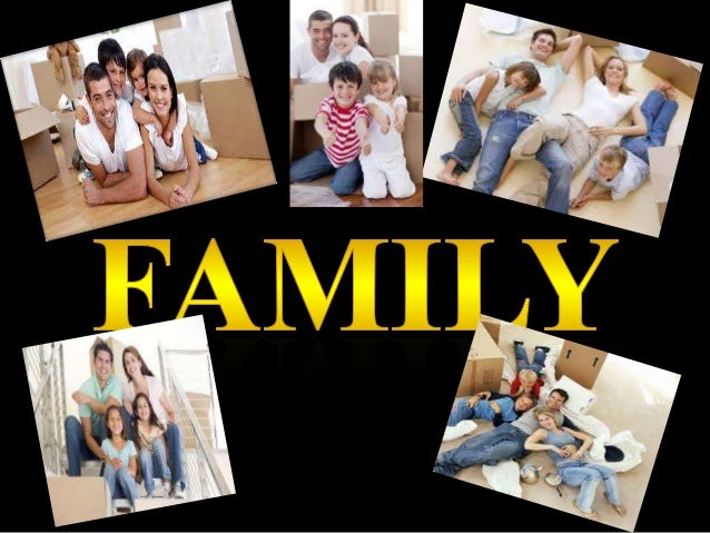Family A group consisting of parents and children living together in a household. Basic social unit. People living toge...
