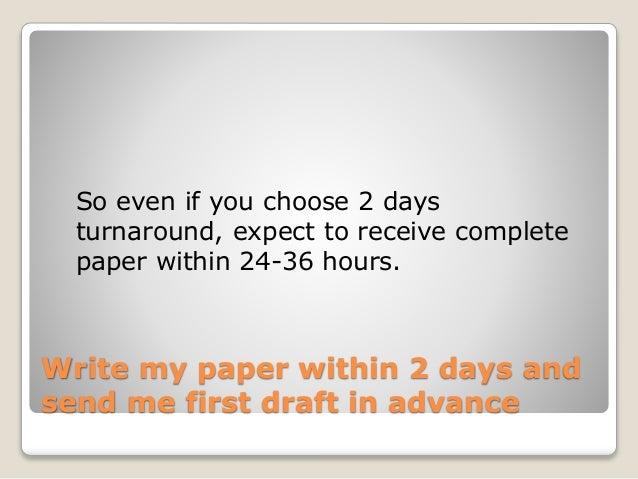 Writer essay in three hours