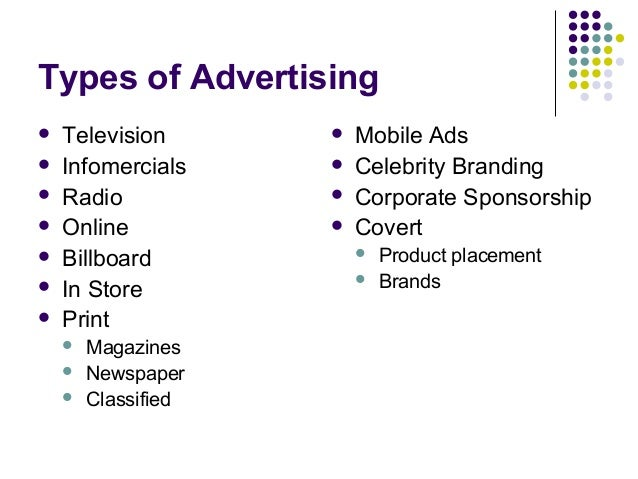 methods of advertising Persuasive techniques in advertising the persuasive strategies used by advertisers who want you to buy their product can be divided into three categories: pathos.