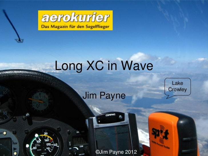 SSA 2012—Long Cross Country Flights in Mountain Wave