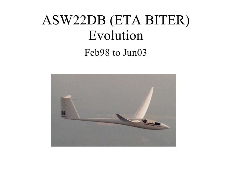 SSA Convention 04, Eta Biter presentation by Dick Butler