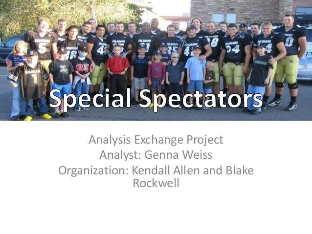 Analysis Exchange ProjectAnalyst: Genna WeissOrganization: Kendall Allen and BlakeRockwell