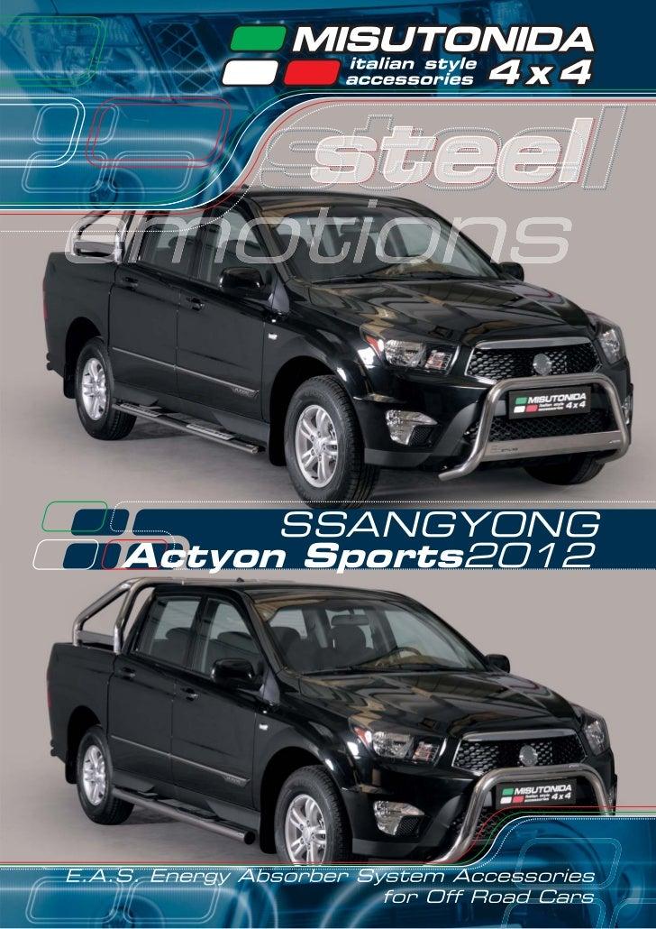 SSANGYONGActyon Sports2012