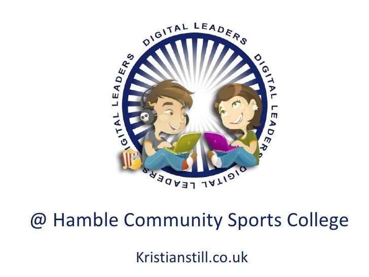 @ Hamble Community Sports College<br />Kristianstill.co.uk<br />