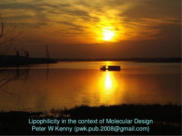 Lipophilicity in the context of Molecular Design Peter W Kenny (pwk.pub.2008@gmail.com)