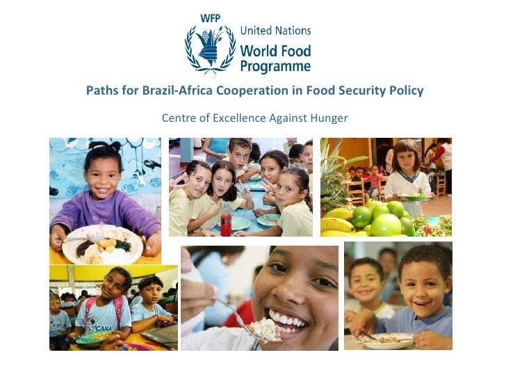 Paths for Brazil-Africa Cooperation in Food Security Policy             Centre of Excellence Against Hunger